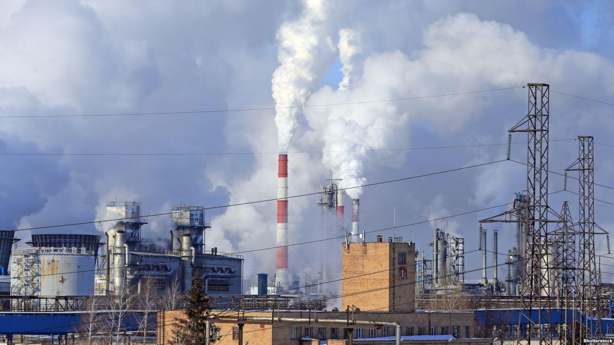 забрудення повітря завод