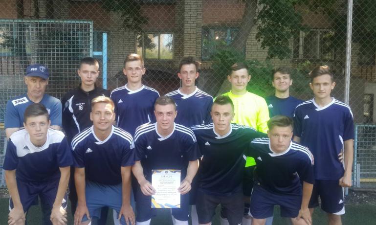 Команда фізкультурного коледжу з міні футболу