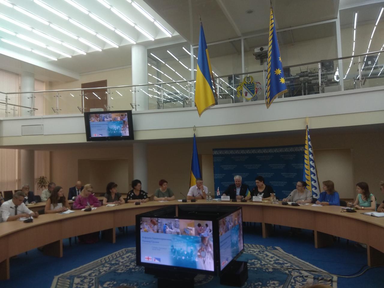 Лікарі Січеславщини переймали досвід Грузії впровадження медичних реформ.