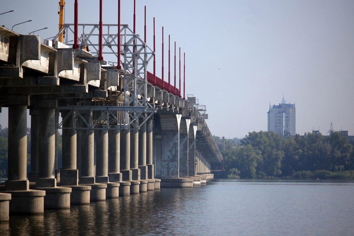 ремонт моста Днепре сроки