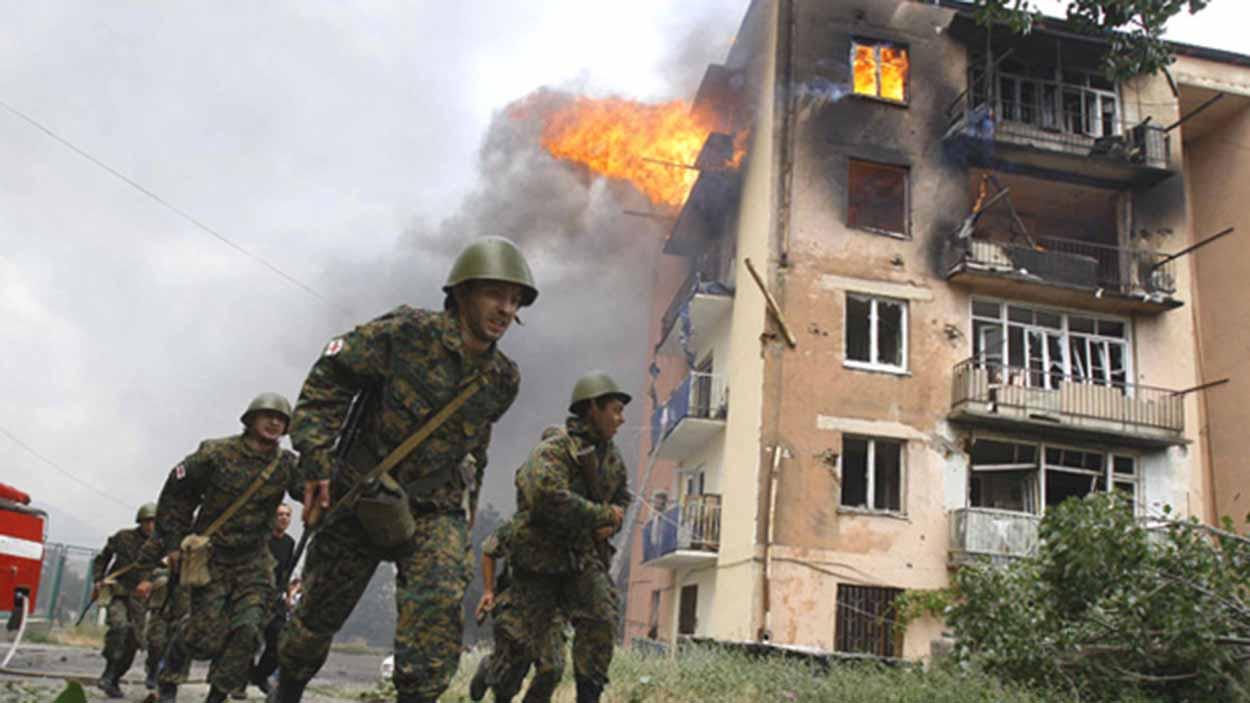 Грузия война в 2008 році