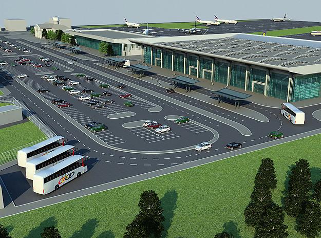 новий аеропорт будівництво