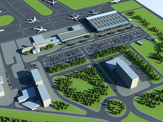 схема нового аеропорту дніпро