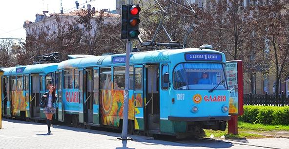 1 трамвай в днепре маршрут