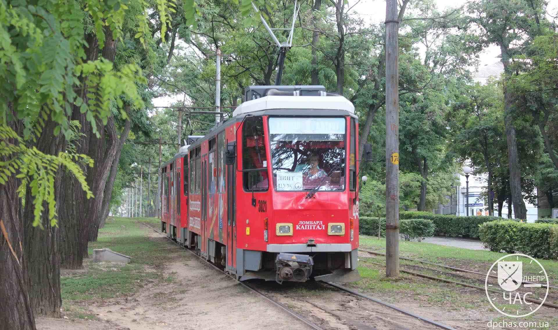 трамвай 1 маршрут