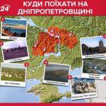 днепропетровская область туризм интересные места