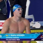 Андрей говоров плавец из Днепра рекорд чемпион