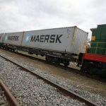 тестовый контейнерный поезд Одесса Днепр