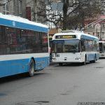 стоимость проезда в троллейбусе днепр
