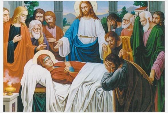 воскресіння та прославлення Божої Матері